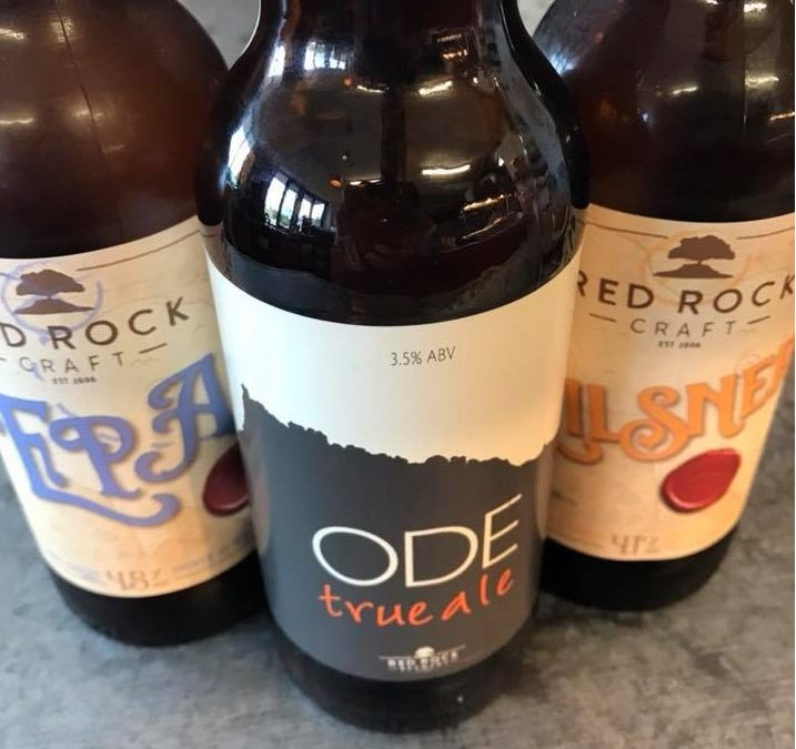 It's here! Ode true ale is now available.
