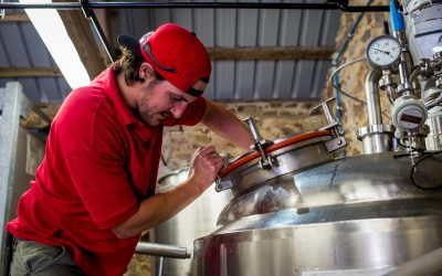 Meet Lewis Parkes, Director at Red Rock Brewery!