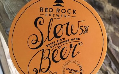 Take it slow with our brand new cask conditioned honey beer!