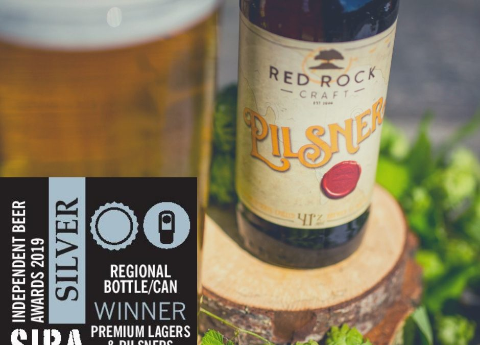 Another award notched up for our craft Pilsner.
