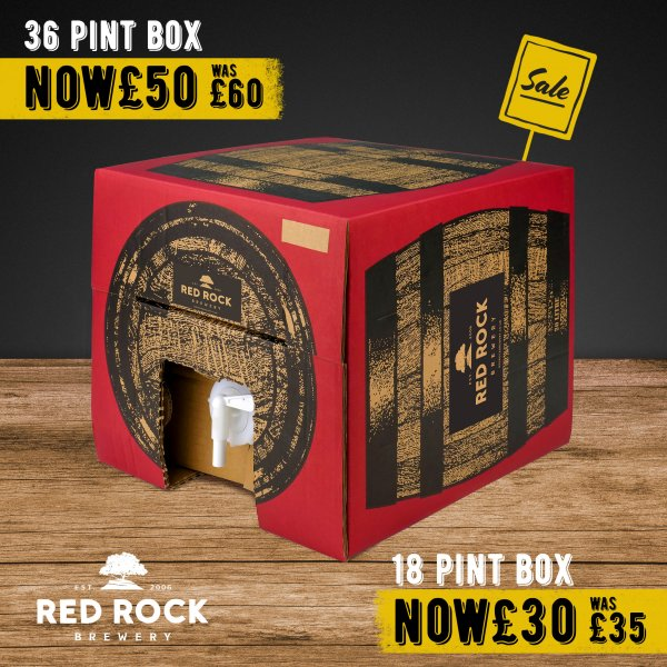 Beer in Box | Collection Only