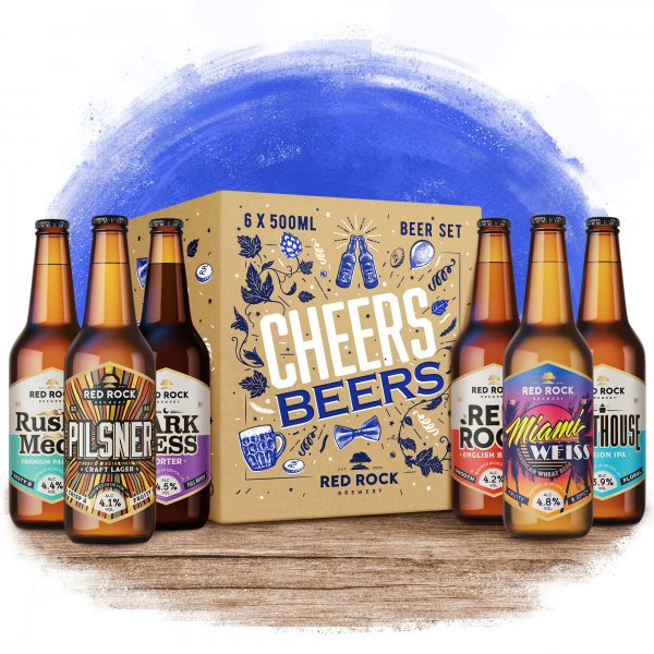 beer gift pack - cheers beers